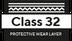 klasse 32 - Beschermende slijtlaag