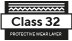Class 32 protective layer